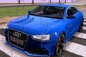 奥迪RS5汽车拼图