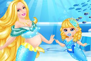 美人鱼公主和宝贝