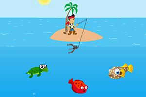 杰克船长钓大鱼
