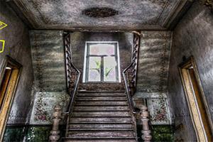 破旧废弃的房子逃脱