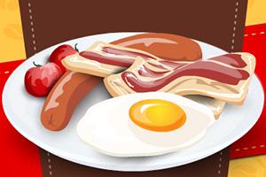 鸡蛋与培根