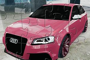 奥迪RS3汽车拼图
