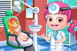 可爱宝贝牙医装