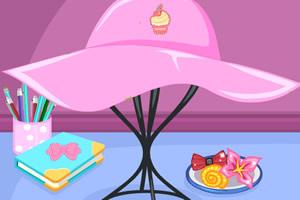 小人鱼设计夏日草帽