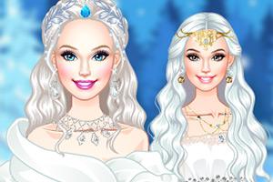 美丽的冰雪公主