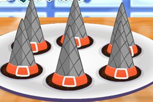 女巫帽锥蛋糕