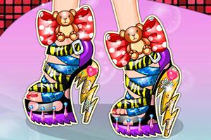 设计时尚的高跟鞋