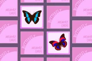 蝴蝶记忆卡牌