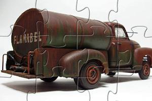 油罐卡车拼图