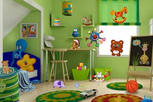 儿童房找物品