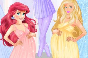 怀孕公主时尚装扮