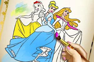 公主的彩色画册