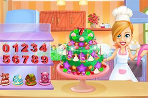制作婴儿生日蛋糕
