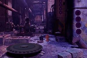 逃离废弃的化工厂