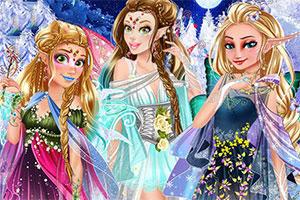 冬日的精灵公主
