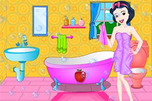 公主的彩色浴室
