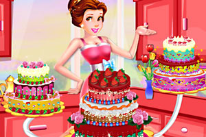 公主制作美味蛋糕