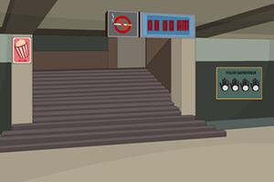 逃离无人的地铁