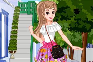 自制糖果连衣裙