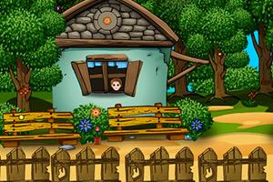 小男孩的农场房子逃脱5
