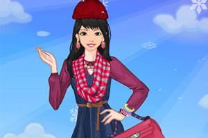 时尚的冬装搭配