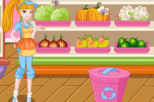 水果蔬菜小屋经营