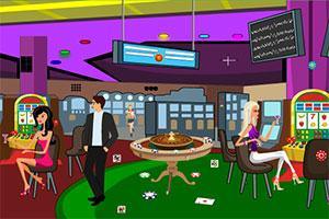 逃出赌场大厅