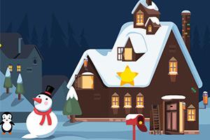 逃离圣诞企鹅之家
