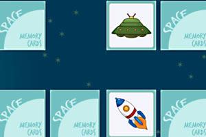 太空记忆卡牌