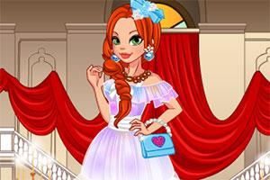 舞会的公主裙装