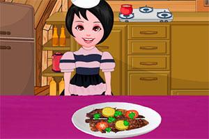 烹饪印度咖喱鱼