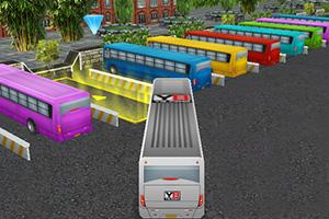 3D公共巴士停靠