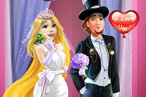 情侣结婚派对装扮