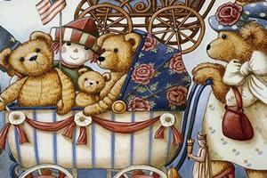 泰迪熊图片找字母