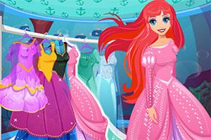 时尚的人鱼公主打扮
