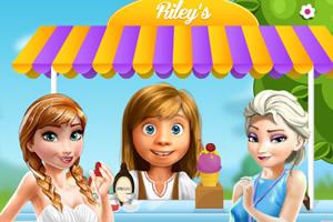 莱利的冰淇淋摊