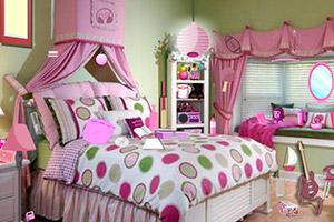 粉色房间找物品