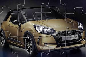 雪铁龙DS3轿车拼图