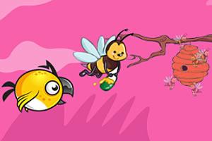 偷蜂蜜的蜜蜂