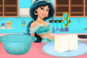 茉莉制作纽约蛋糕