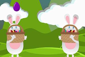 小兔接彩蛋