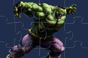 暴走绿巨人拼图