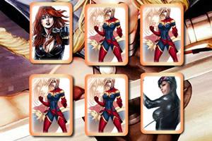 女英雄记忆卡