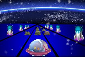 外星飞船竞速赛