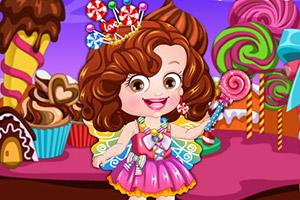 可爱宝贝在糖果乐园