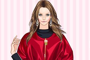 红色时尚春装