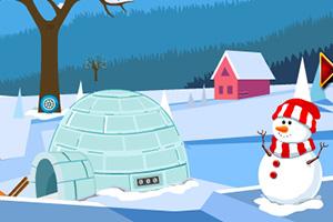 冬季假期汽车逃脱