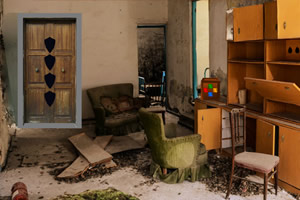 废弃的工业厂房逃脱