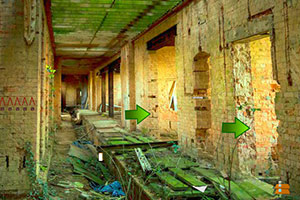 逃出废弃的医院大楼