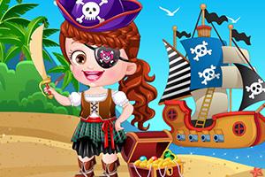 可爱宝贝海盗装扮